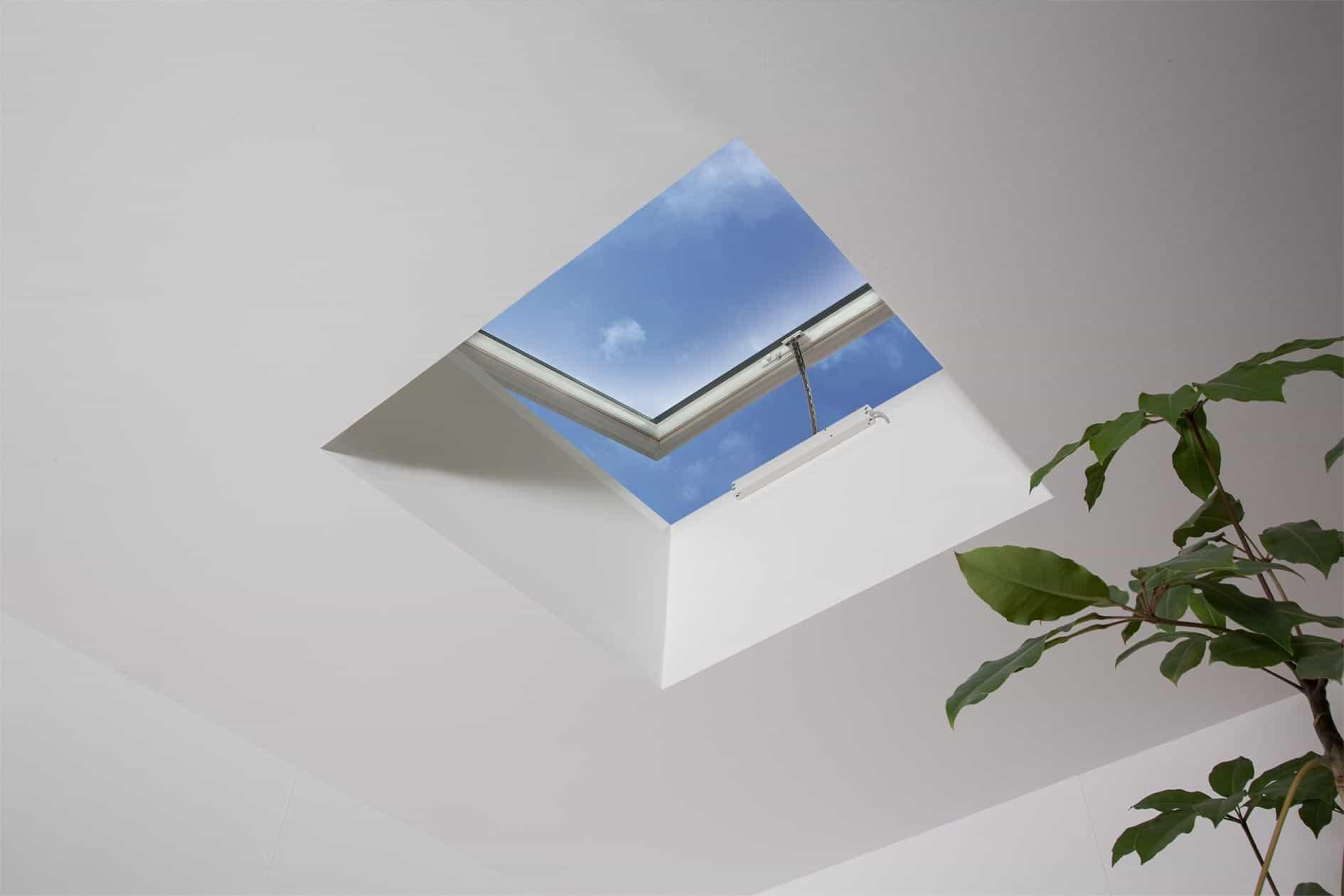 Opening skylight