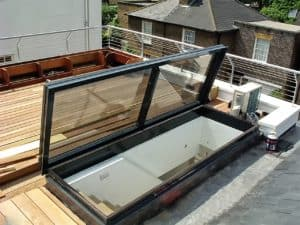 Value of Roof Access Glazed Roof Deck
