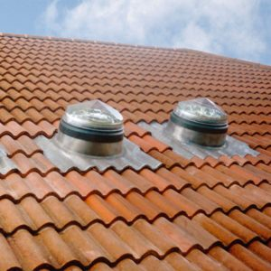 Pitched Bold Roll Tile Roof